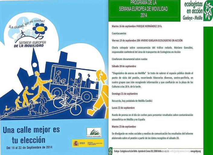 cartel Semana Movilidad