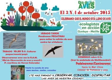 Cartel día mundial de las aves