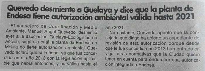 Quevedo acusa a Guelaya de mentir