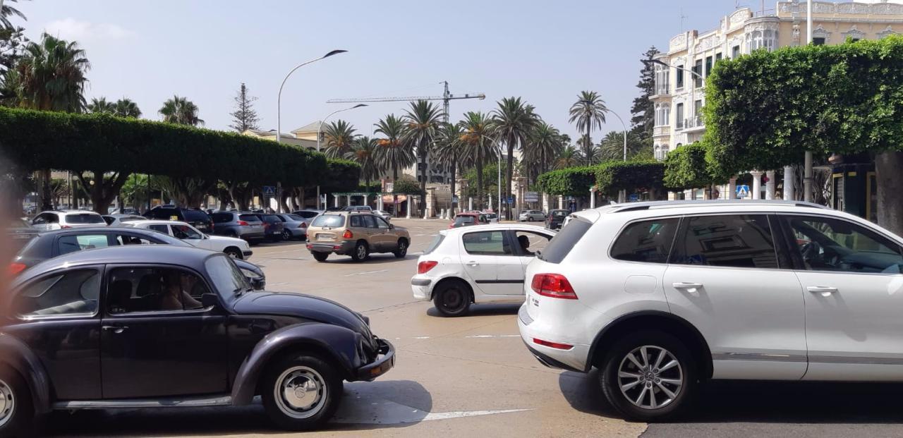 trafico plaza españa