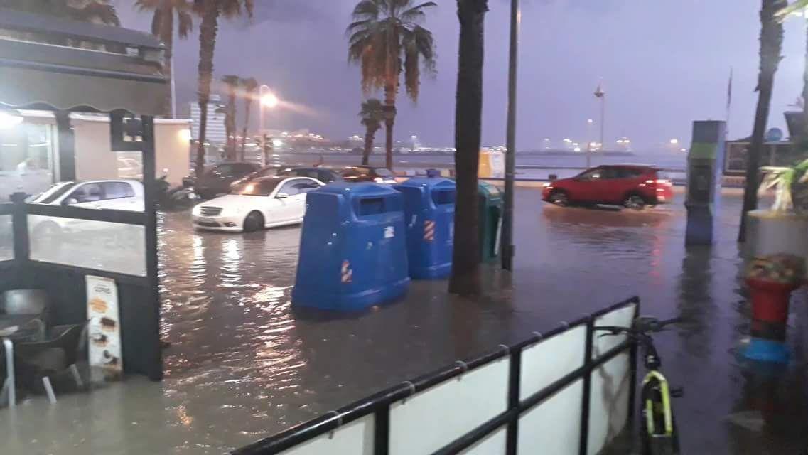 inundaciones melilla octubre 2018