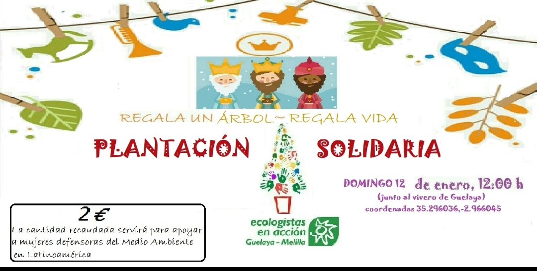 cartel reforestacion solidaria