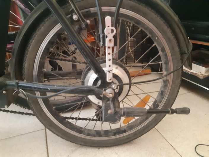 bici confinada