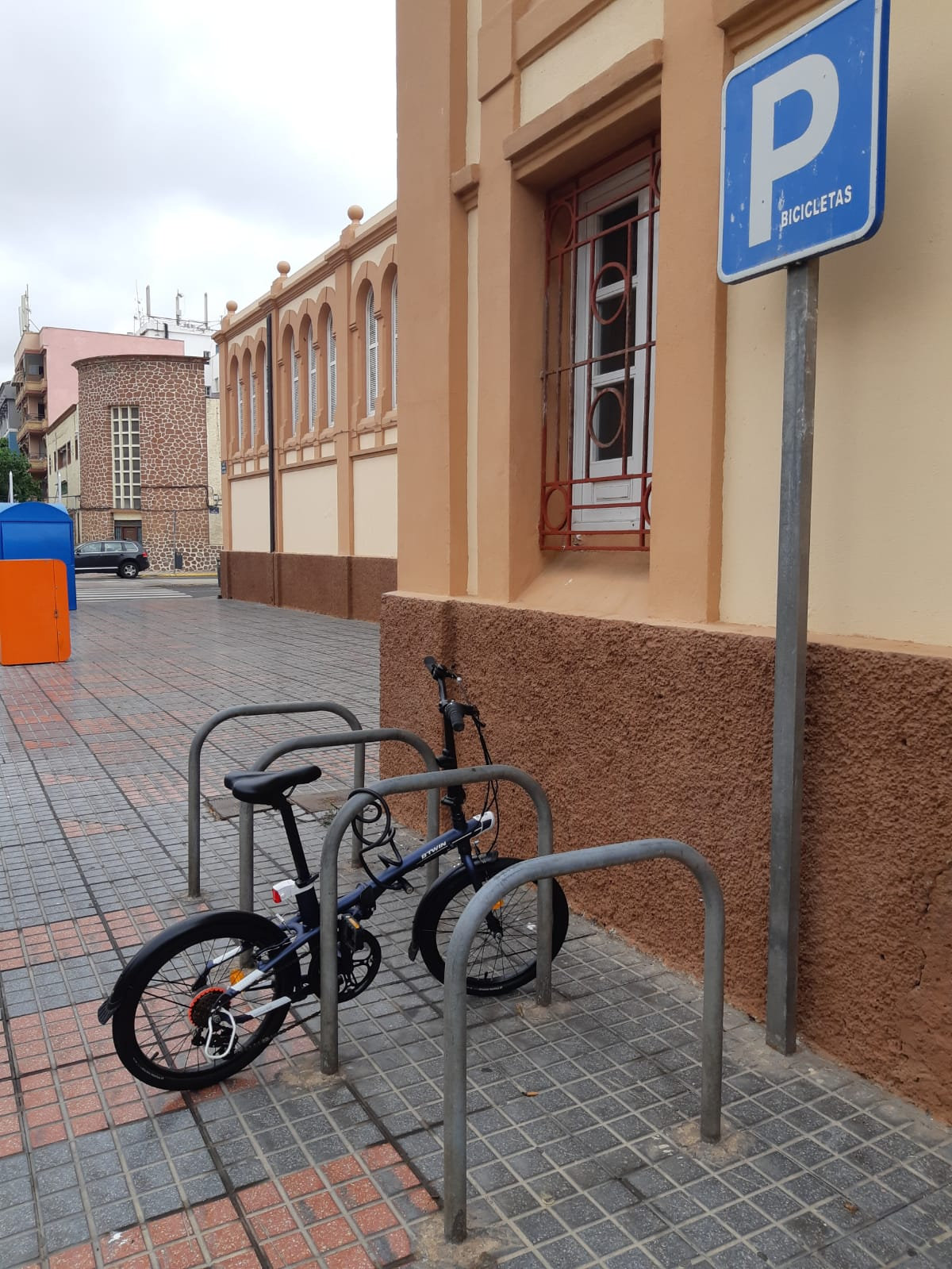 parking bicis