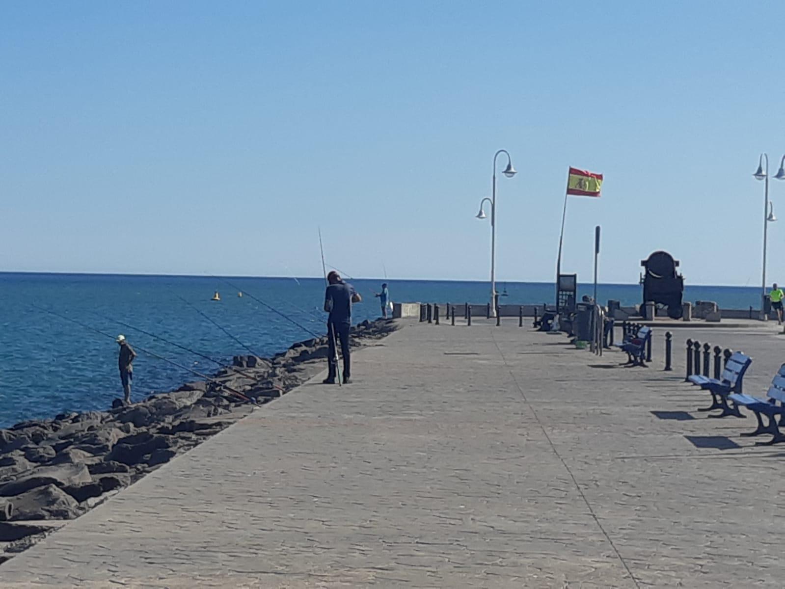 pesca en dique sur